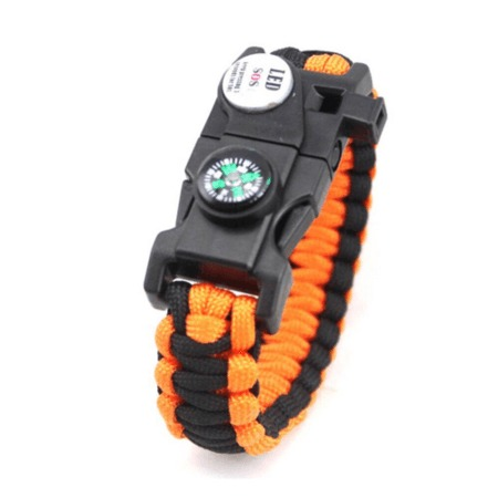 Emergency 5 in 1 Survival Bracelet