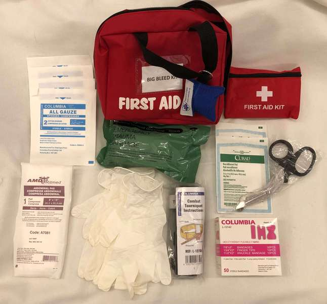 Big Bleed First Aid Kit