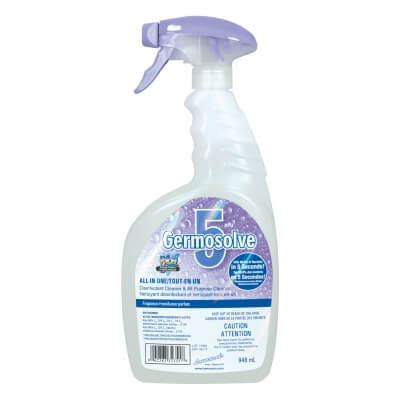 GERMOSOLVE 5 - Surface Disinfectant 946ML (Spray)