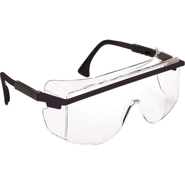 Honeywell - Uvex® Astro OTG® 3001 Safety Glasses, Clear Lens, Anti-Fog/Anti-Scratch Coating